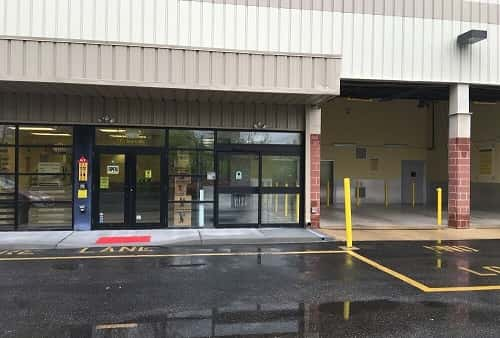Drive-In Covered Loading Area for Self Storage Lockers on Route 35 in Holmdel, NJ 07733