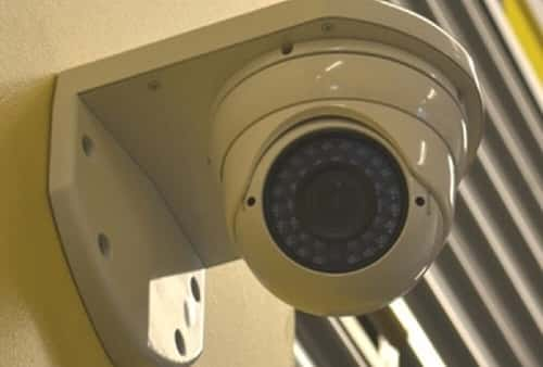 Security Camera in Self Storage Area at 85 Weyman Ave, New Rochelle, NY 10805